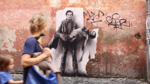 Ernest Pignon-Ernest et la figure de Pasolini
